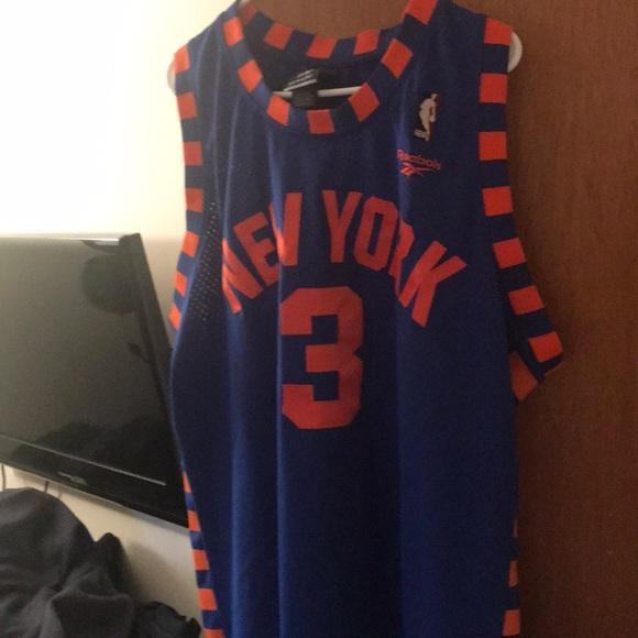 9cce6567ba17 Reebok Knicks Hardwood Classic Stephon Marbury. M 5ab2d53831a3761c9906a70f